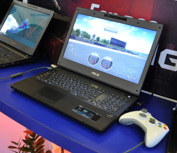 Игровой ноутбук ASUS G74S