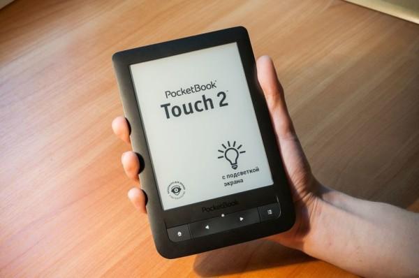 PocketBook представила электронную книгу с сенсорным экраном
