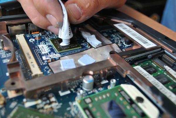 Перегрев процессора и замена на нем термопасты