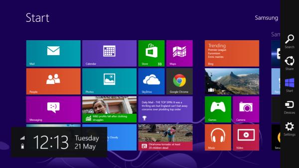 Краткий обзор Windows 8