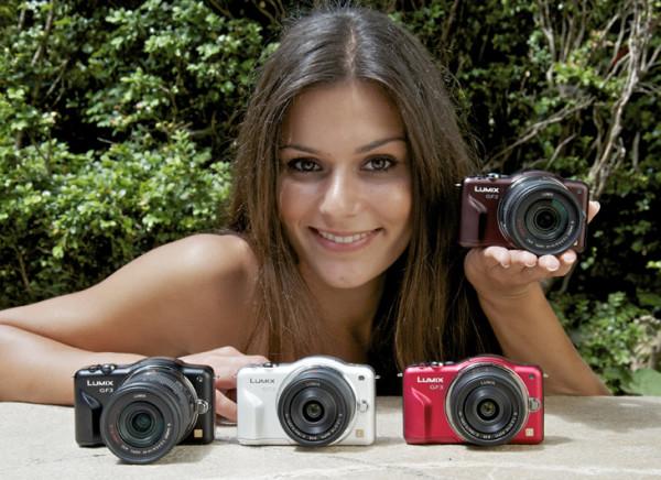 Беззеркальный фотоаппарат Panasonic Lumix DMC-GF3