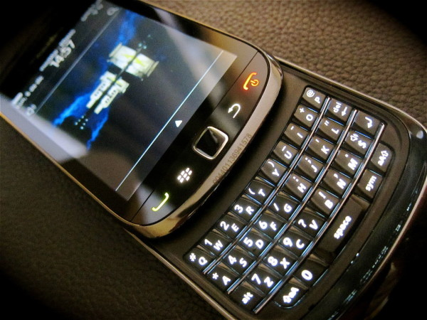 BlackBerry Torch под управлением BlackBerry OS 7.0