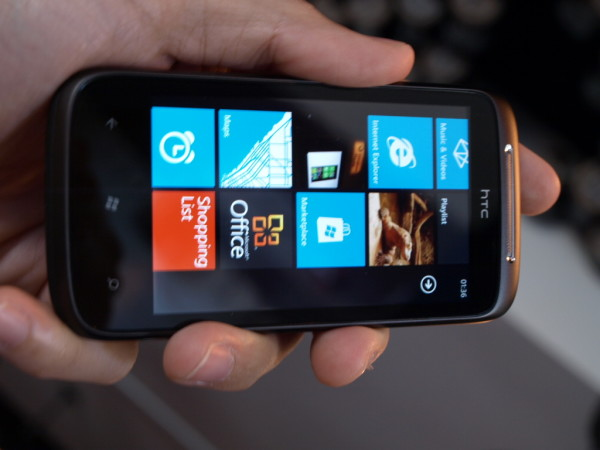 HTC Mozart - первый на Windows Phone 7