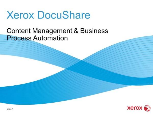Xerox DocuShare 6.0 получила сертификат