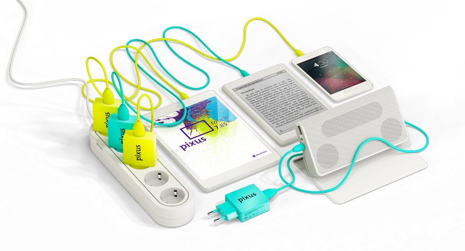 Зарядные устройства с логотипом компании – стильный аксессуар