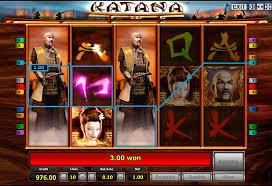 Видеослот Katana